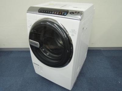 SHARP シャープ KIREION ES-V300-WR 洗濯機 ドラム式 9kg 右開き ホワイト系