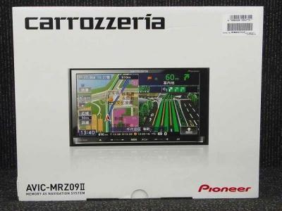 Pioneer パイオニア carrozzeria 楽ナビ AVIC-MRZ09II メモリーナビ 7型
