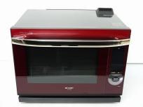 SHARP シャープ ウォーターオーブン ヘルシオ AX-PX3-R 電子オーブンレンジ 30L レッド