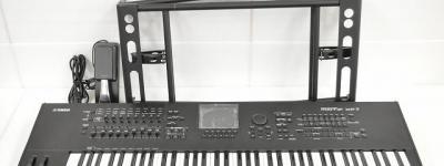 YAMAHA ヤマハ MOTIF XF7 ミュージックシンセサイザー ブラック 76鍵