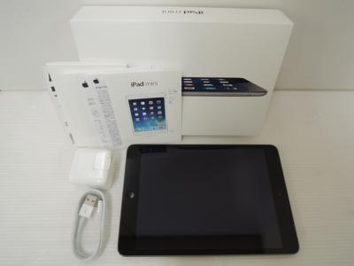 Apple アップル iPad mini Retina ME278J/A Wi-Fi 64GB 7.9型 スペースグレイ
