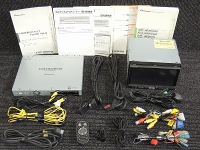 Pioneer パイオニア carrozzeria 楽ナビ AVIC-HRZ009G カーナビ HDDナビ 7型