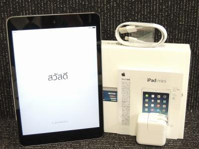 Apple アップル iPad mini Retina ME278J/A Wi-Fi 64GB 7.9型 スペースグレイ