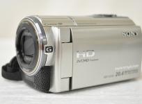 SONY ソニー ハンディカム HDR-CX590V S ビデオカメラ HDD シャンパンシルバー