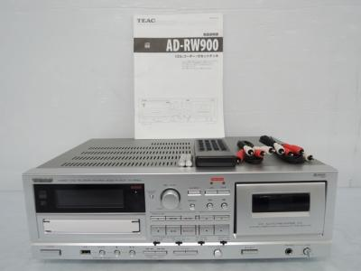 TEAC ティアック AD-RW900-S カセットデッキ CDレコーダー シルバー