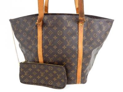 LOUIS VUITTON ルイ・ヴィトン モノグラム M51108 サックショッピング バッグ