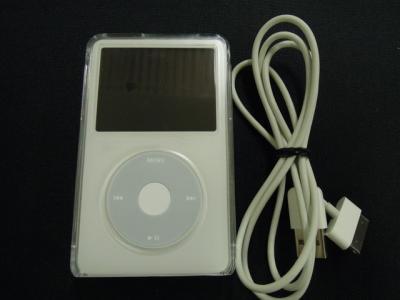 Apple アップル iPod MA448J/A  80GB ポータブル音楽プレーヤー ホワイト