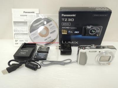 Panasonic パナソニック LUMIX TZ30 DMC-TZ30-W デジタルカメラ コンデジ ホワイト