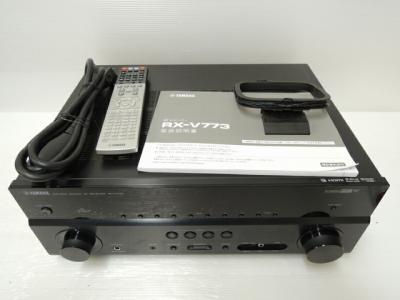 YAMAHA ヤマハ AVレシーバー RX-V773 (B)  AVアンプ ブラック