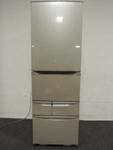 TOSHIBA 東芝 置けちゃうスリム GR-E43N(NU) 冷蔵庫 427L 5ドア 右開き ブライトシャンパン