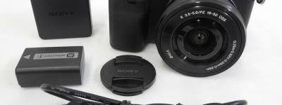 SONY ソニー α NEX-6 パワーズームレンズキット NEX-6L カメラ デジタル ミラーレス一眼 ブラック