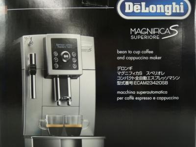 DeLonghi デロンギ MAGNIFICA S SUPERIORE ECAM23420SB エスプレッソマシン