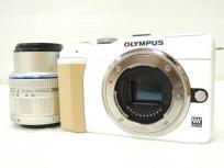 OLYMPUS オリンパス PEN Lite E-PL1s レンズキット カメラ ミラーレス一眼 ホワイト