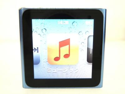 Apple アップル iPod nano MC689J/A 8GB ポータブル音楽プレーヤー ブルー