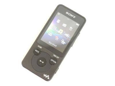 SONY ソニー WALKMAN NW-E083 B ポータブルオーディオプレーヤー 4GB ブラック