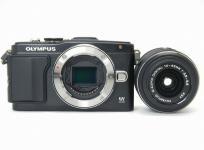 OLYMPUS オリンパス ミラーレス一眼 PEN Lite E-PL5 レンズキット ブラック デジタル カメラ