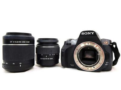 SONY ソニー α330 ダブルズームレンズキット DSLR-A330Y カメラ デジタル一眼レフ