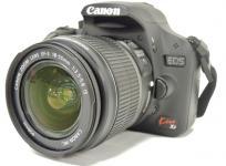 Canon キヤノン EOS Kiss X3 レンズキット KISSX3-LKIT カメラ デジタル一眼レフ ブラック
