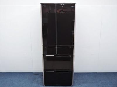 HITACHI 日立 真空チルドFS R-G4800D XT 冷蔵庫 475L 6ドア フレンチドア クリスタルブラウン