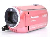 Panasonic パナソニック ビデオカメラ HC-V300M ピンク デジタル ハイビジョン