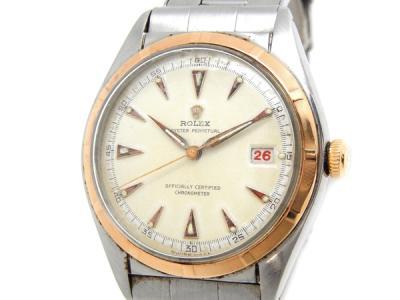 ロレックス オイスターパーペチュアル 5031 SS アンテイーク バブルバック メンズ 時計