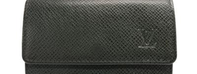 LOUIS VUITTON ルイ・ヴィトン ミュルティクレ6 6連 キーケース タイガ セピセア 緑 M30532