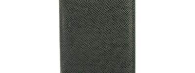 ルイ・ヴィトン LOUIS VUITTON オーガナイザー ドゥ ポッシュ カードケース M30514 タイガ エピセア 緑