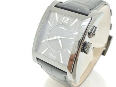 VULCAIN V100118.090NL ゴールデンヴォイス キャレ グレー メンズ 手巻 腕時計