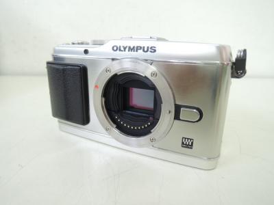 OLYMPUS PEN E-P3 ボディ シルバー ミラーレス一眼