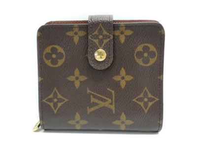 LOUIS VUITTON ルイ ヴィトン コンパクトジップ M61667 二つ折り財布 モノグラム