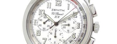 ZENITH ゼニス 02.0500.420 エル・プリメロ 腕時計 メンズ ホワイト SS ステンレス 手巻き