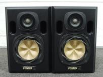 FOSTEX フォステクス NF-01A スピーカー ペア スタジオモニター ブラック