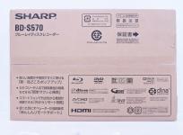 SHARP シャープ AQUOSブルーレイ BD-S570 ブルーレイレコーダー 500GB