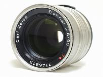 CONTAX コンタックス Carl Zeiss Sonnar T* カールツァイス 90mm F2.8