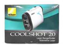 Nikon ニコン 携帯型レーザー距離計 COOLSHOT 20 ゴルフ スコープ