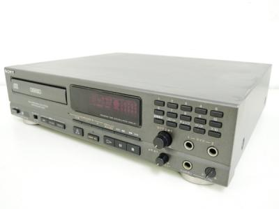SONY ソニー CDP-K2G CDプレーヤー デッキ シルバー