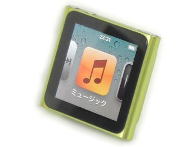 Appple アップル iPod nano 16GB MC696J/A G MP3プレーヤー ポータブル