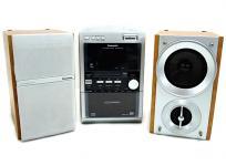 Panasonic パナソニック SC-PM710SD-S コンポ CD/SD/MD シルバー