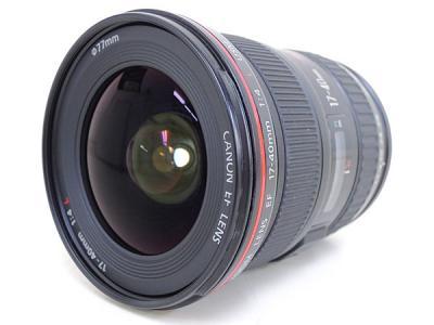 Canon キヤノン レンズ EF17-40mm F4L USM カメラ 超広角