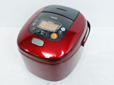 TOSHIBA 東芝 真空かまど炊き RC-18VRF(R) IH 炊飯器 1升 レッド