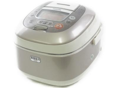 TOSHIBA 東芝 真空圧力 かまど炊き RC-10VSE (N) 圧力IH 炊飯器 5.5合 レディッシュゴールド