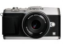 OLYMPUS オリンパス PEN E-P5 17mm F1.8 レンズキット シルバー カメラ ミラーレス一眼