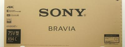 SONY ソニー BRAVIA KJ-75X9400C 液晶テレビ 75V型