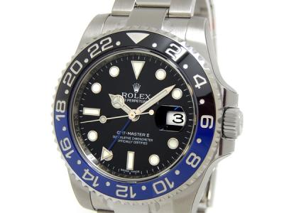 ROLEX ロレックス GMTマスター2 青×黒ベゼル 116710BLNR ランダム番 メンズ 自動巻き