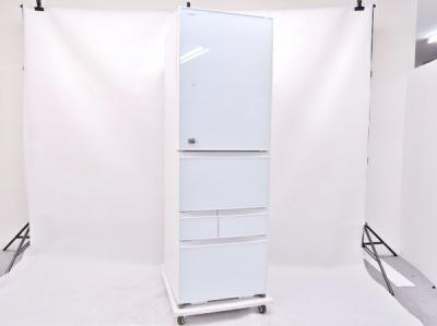 TOSHIBA 東芝 GR-H43GXV(ZW) 冷蔵庫 426L 5ドア 右開き クリアシェルホワイト