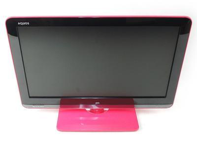 SHARP シャープ AQUOS アクオス LC-19K3 P 液晶テレビ 19V型 ピンク