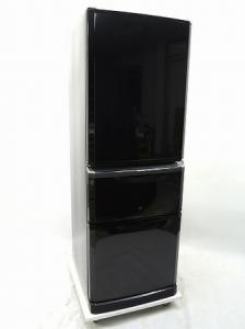 MITSUBISHI 三菱 MR-C34Y-B 冷蔵庫  3ドア 335L プラチナブラック
