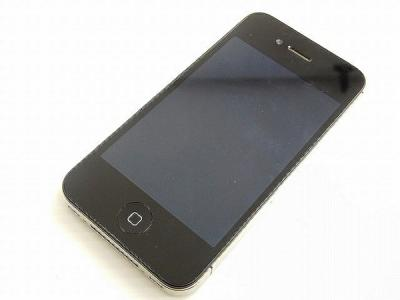 Apple アップル iPhone 4S MD235J/A 16GB Softbank ブラック