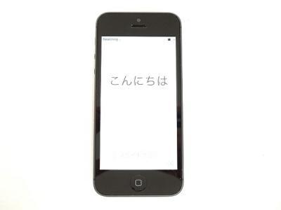 Apple アップル iPhone 5 MD297J/A 16GB SoftBank ブラック/スレート