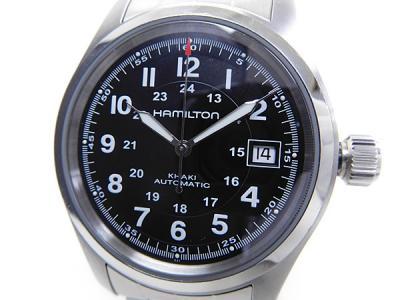HAMILTON ハミルトン KHAKI カーキ フィールド H704450 シースルーバック 腕時計 メンズ 自動巻き